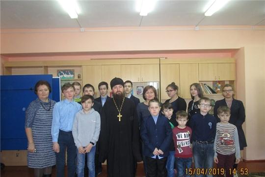 Состоялась встреча с протоиереем Владимиром