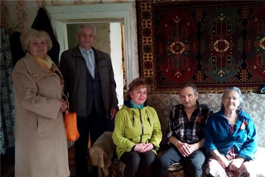 Продолжается обследование условий проживания ветеранов Великой Отечественной войны
