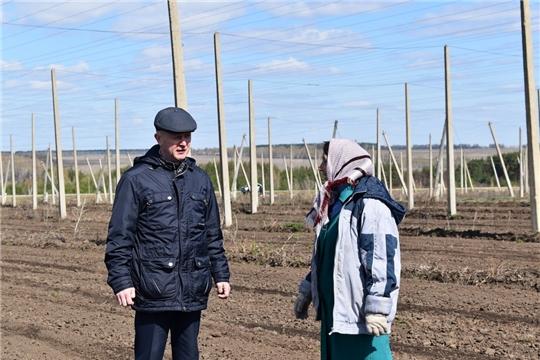 В Ядринском районе продолжаются весенне-полевые работы