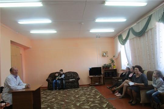 В рамках реализации проекта «Жить здорово!» состоялась встреча с медицинским работником