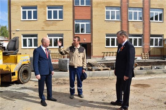 Близится к завершению строительство новой школы в Ядрине