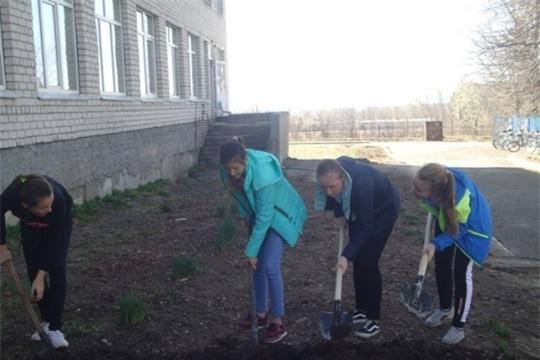 Образовательные организации Ядринского района участвовали в конкурсе «Зеленая весна» в рамках республиканской акции «Охрана природы – дело каждого»
