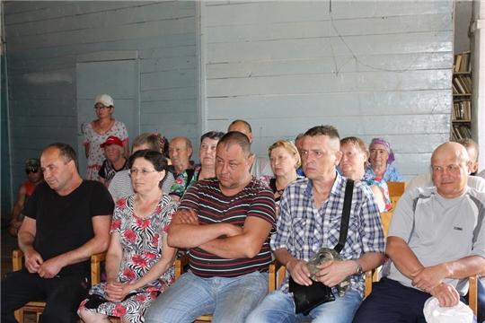 В Ядринском районе состоялся Единый информационный день