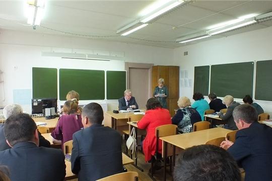 Организованно завершить учебный год – главная задача общеобразовательных организаций Ядринского района