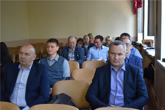 В Ядринской районной администрации состоялось совещание с главами городского и сельских поселений