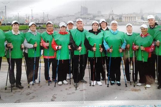 Клуб любителей скандинавской ходьбы в городе Ядрин