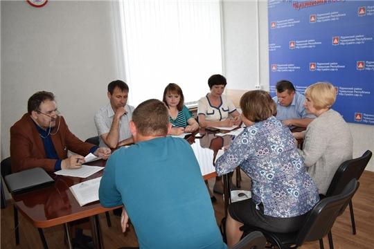 29 мая 2019 года  в Ядринской районной администрации состоялось заседание санитарно - противоэпидемической комиссии