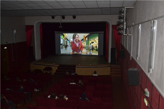 Фестиваль уличного кино в Ядрине