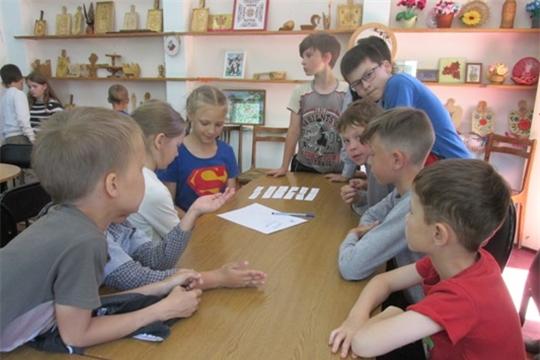 В познавательной программе «У меня есть Родина – Россия моя» участвовали воспитанники пришкольного оздоровительного лагеря «Планета здоровых ребят»