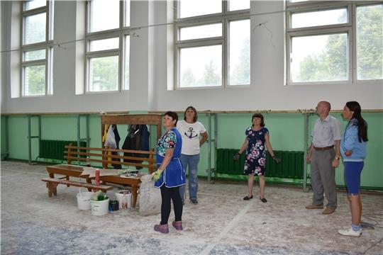 Начат капитальный ремонт спортивных залов в МБОУ «Ювановская СОШ», «Кукшумская ООШ» и «Старотиньгешская СОШ»
