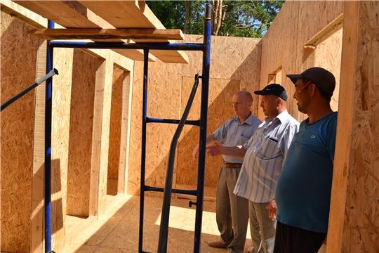 В деревне Кильдишево идет строительство нового модульного ФАПа