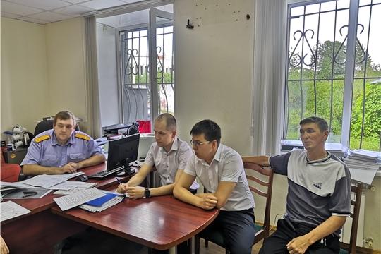 Противопожарный инструктаж прошли сотрудники Ядринского межрайонного следственного отдела СУ СК РФ по Чувашии