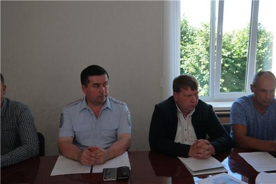 Состоялось очередное заседание районной комиссии по обеспечению безопасности дорожного движения