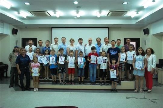 Семейные команды Ядринского района приняли участие в республиканском турнире по шахматам