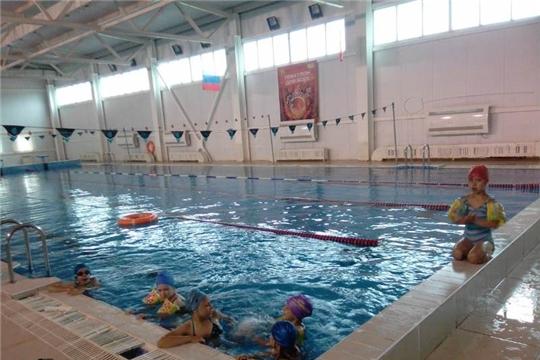 Занятие в бассейне - радость и польза