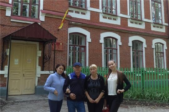 Родственники художника Евграфа Пайманова в художественно-краеведческом музее
