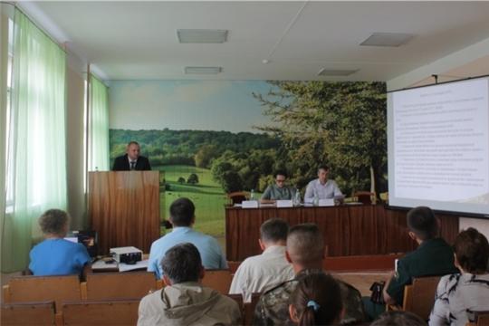 Состоялось выездное заседание коллегии Минприроды Чувашии