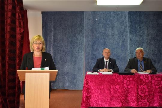 Сегодня в МБОУ «Ювановская СОШ» состоялось сорок пятое очередное заседание Ядринского районного Собрания депутатов VI созыва