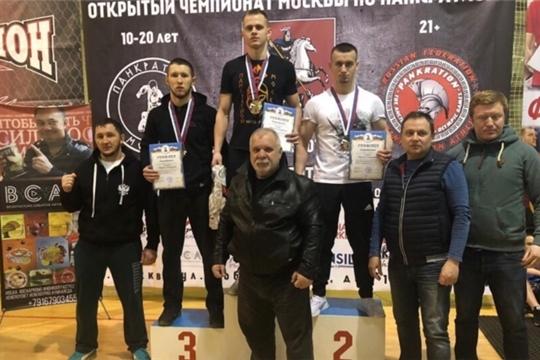 Артем Салмин - третий призер чемпионата Москвы по панкратиону
