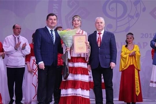 Маргарита Еникова «Кĕмел сасă» конкурса хутшăнчĕ