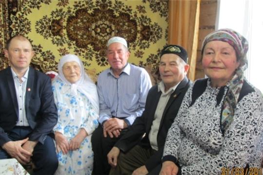 Долгожительница Равия Расыховна Ишмаева отметила 90-летний юбилей