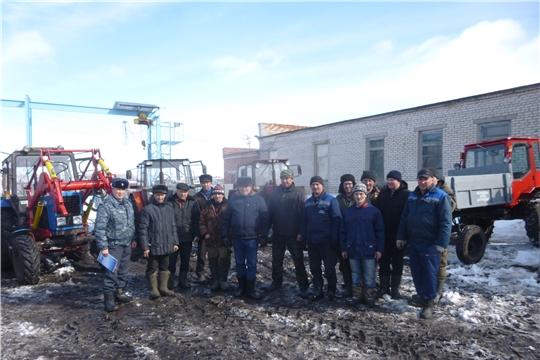 Первый технический осмотр в Яльчикском районе прошел в СХПК «Рассвет»