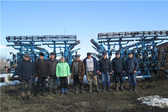 В хозяйствах Яльчикского района продолжаются комиссионные смотры готовности хозяйств к весенним полевым работам «Весна-2019»