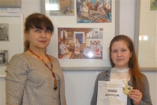 Елизавета Мурзакаева  - призер X Всероссийского творческого конкурса «Живая нить традиций»