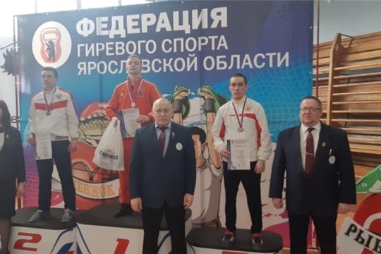 Курчин Дмитрий - бронзовый призер чемпионата европейской части России по гиревому спорту