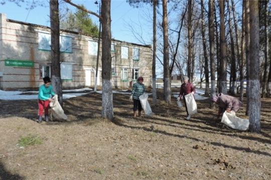 В Малотаябинском сельском поселении стартовала акция «Зеленая весна»