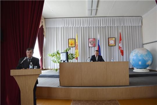 В Яльчикском районе состоялось совещание перед весенними полевыми работами
