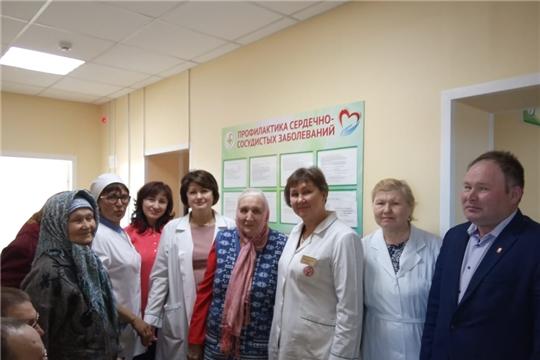В рамках Единого информдня Елена Барсукова встретилась с жителями Яльчикского района