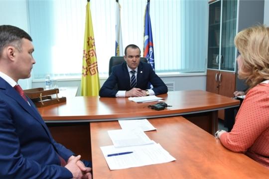 Михаил Игнатьев провел прием граждан