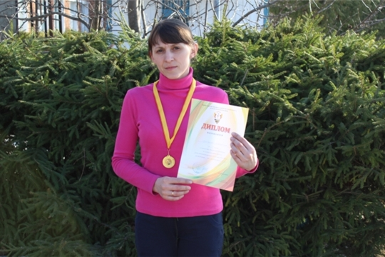 Екатерина Цыганова - чемпионка Чувашии по легкой атлетике (кроссу)