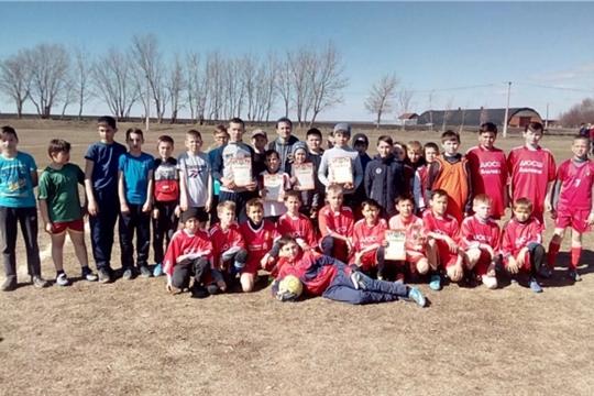 20 апреля состоялись районные соревнования по футболу на призы клуба «Кожаный мяч» среди юношей 2006-2007 годов рождения