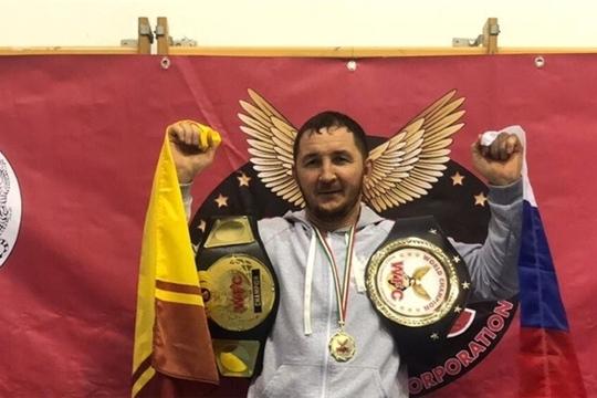 Боец смешанных единоборств Геннадий Дмитриев - чемпион мира