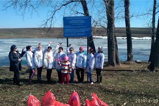 В Единый день зарядки коллектив Яльчикской ЦРБ впервые совершил забег по плоггингу