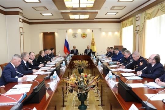 Состоялось совместное заседание антитеррористической комиссии и оперативного штаба