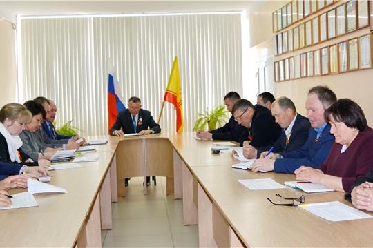 Состоялось заседание антитеррористической комиссии в Яльчикском районе