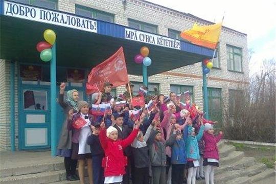 В Яльчикском районе проводится общероссийская патриотическая акция «Часовой у Знамени Победы»