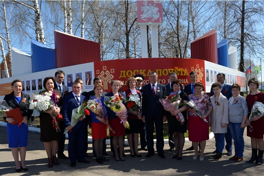 1 мая в Яльчикском районе чествовали человека труда