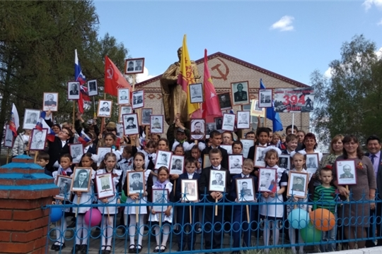 Праздник Дня Победы в Большетаябинском сельском поселении