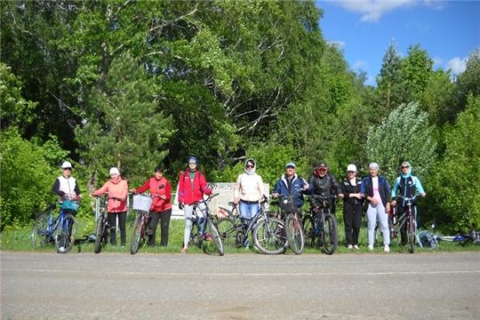 В Яльчикском районе прошел велопробег по историческим местам