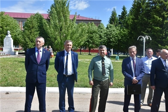 Обсуждены актуальные сезонные темы на выездном заседании коллегии МЧС Чувашии в Аликовском районе