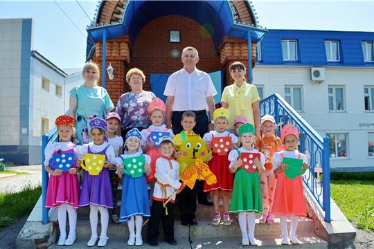 В Яльчикском районе прошел праздник, посвященный Дню защиты детей