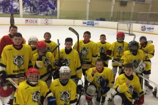 """Хоккейная команда """"Яльчики"""" (Лащ-Таяба) - второй призер «Хоккейного уик-энда в Стрельне» — традиционного ежегодного турнира"""
