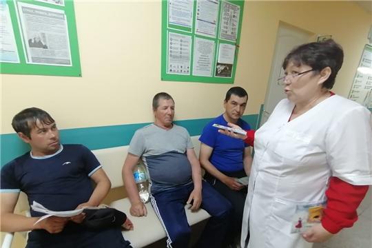 В рамках Всемирного дня без табака в БУ «Яльчикская ЦРБ»  прошел День открытых дверей