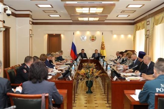 Состоялось заседание Координационного совета при Главе Чувашской Республики по патриотическому воспитанию граждан Российской Федерации