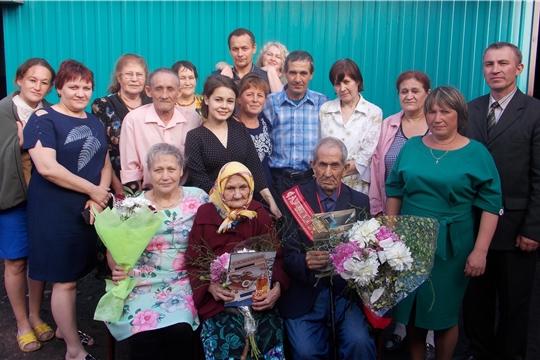 Глава Кильдюшевского сельского поселения поздравил ветерана труда с 90-летием