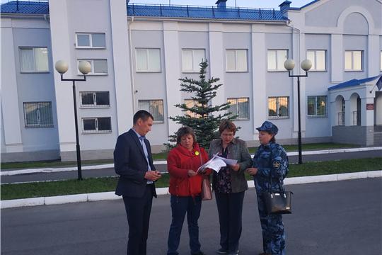 В Яльчикском районе проводятся  ночные рейды  в рамках профилактических операций «Подросток-2019»,  «Каникулы-2019», «Безопасное детство»